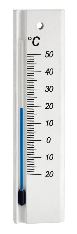 Nástěnný pokojový teploměr TFA 12.1053.09 - bílý