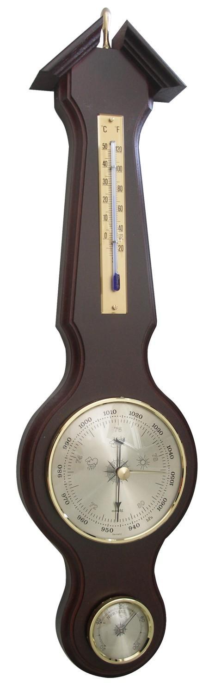 Meteostanice analogová na dřevěné podložce TFA 20.1039.03 - ořech