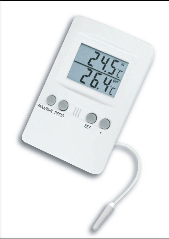 Digitální vnitřní/vnější teploměr TFA 30.1024 s alarmem