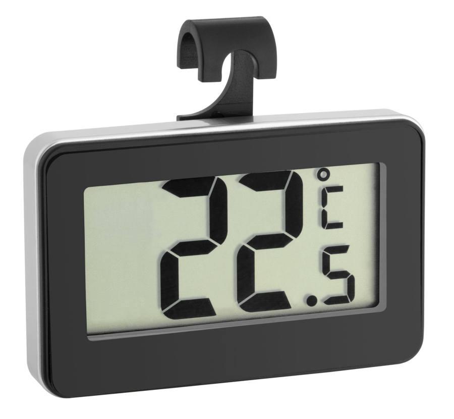 Digitální teploměr do lednice TFA 30.2028.01 - černý