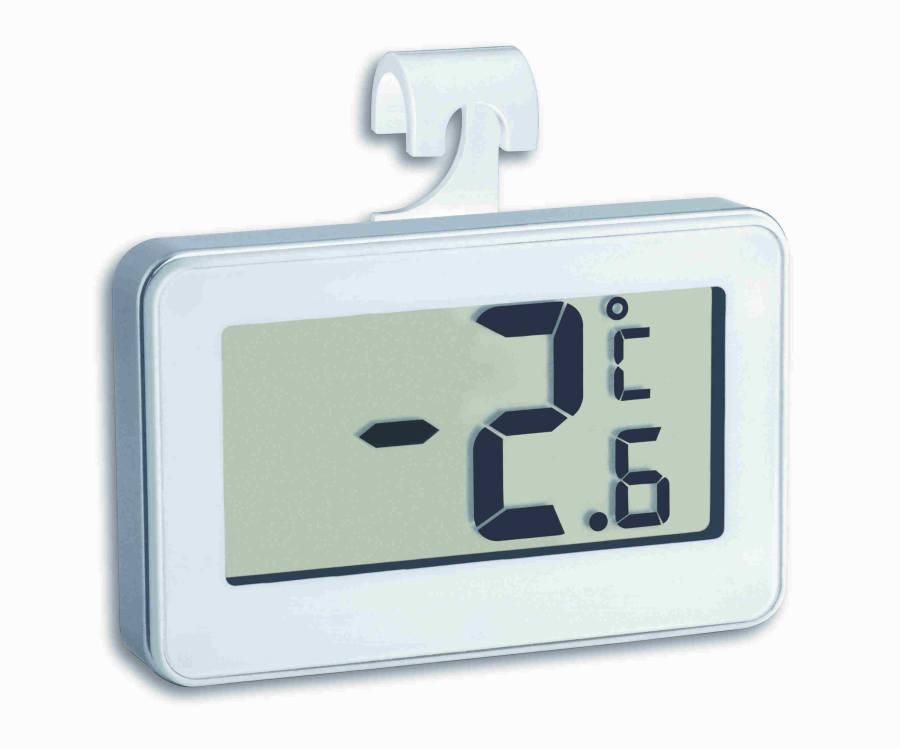 Digitální teploměr do lednice TFA 30.2028.02 - bílý