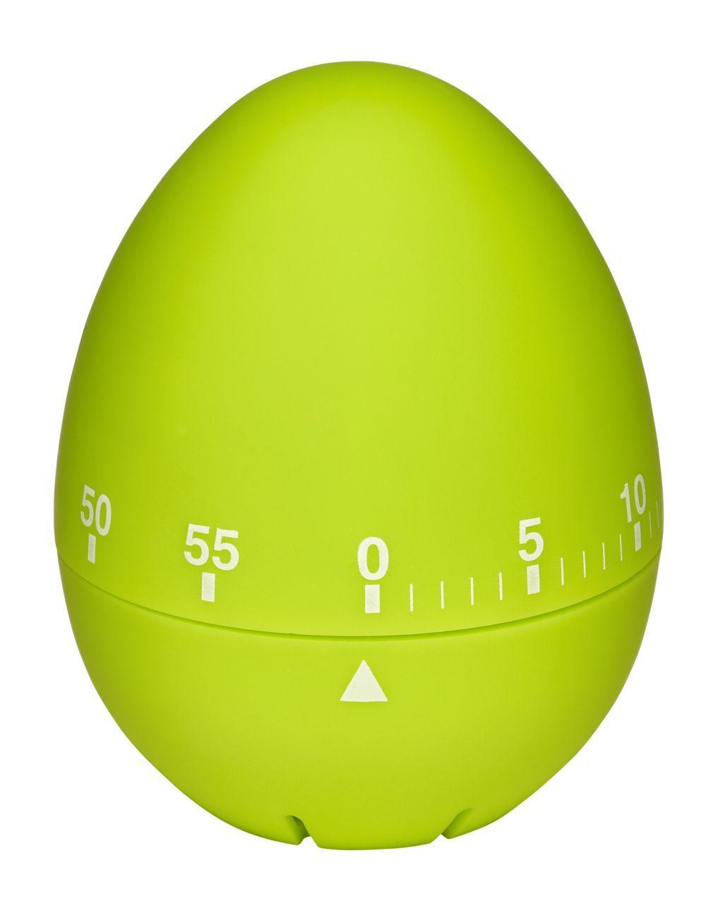 Kuchyňská mechanická minutka TFA 38.1032.04 - vajíčko zelené