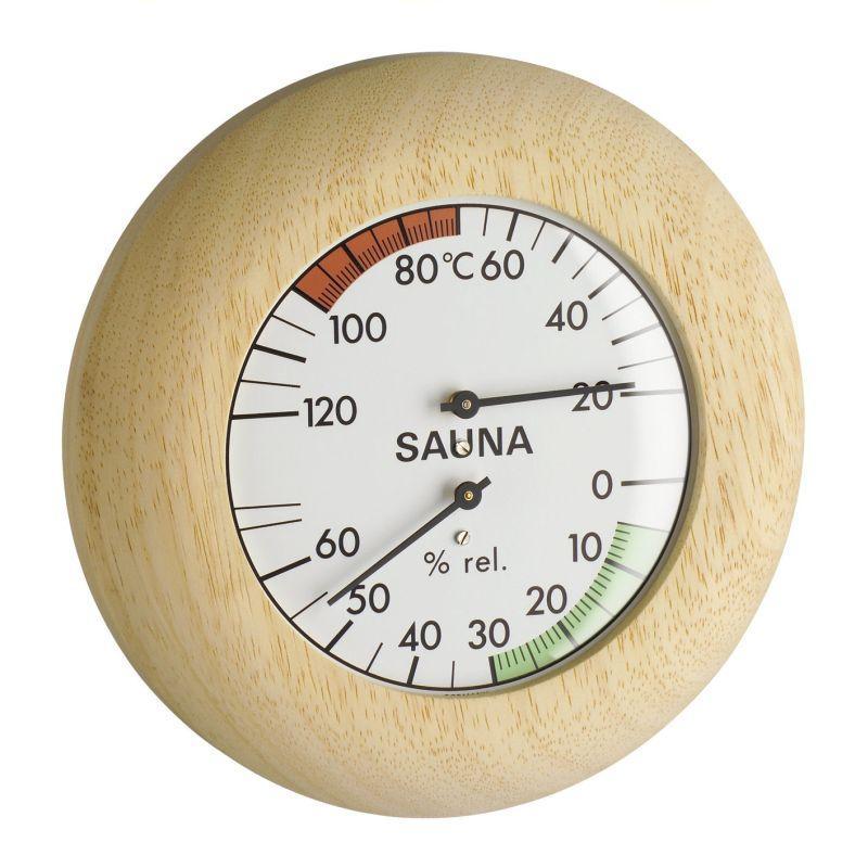 Sauna Kombinace (Teploměr, Vlhkoměr) - TFA 40.1028