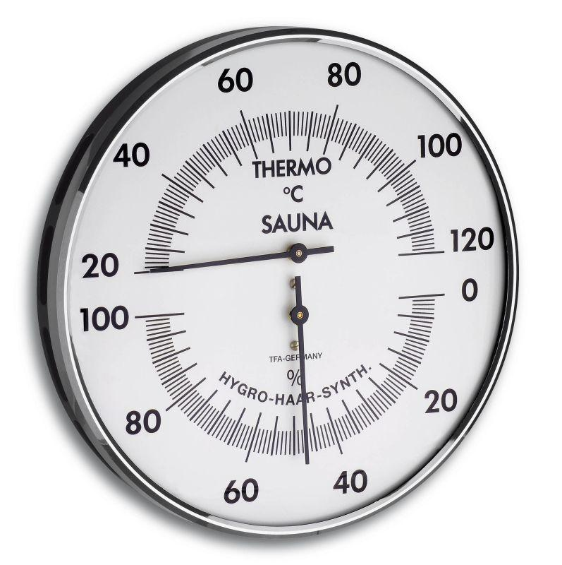 Sauna Kombinace (Teploměr, Vlhkoměr) - TFA 40.1032