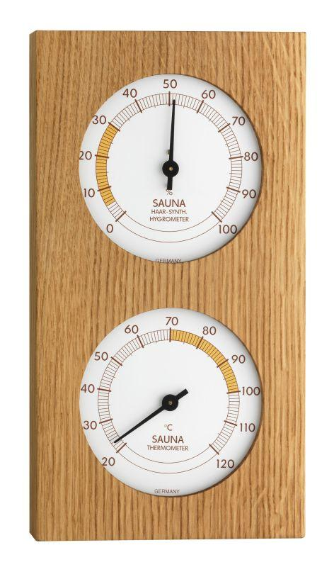 Sauna Kombinace (Teploměr, Vlhkoměr) - TFA 40.1052.01