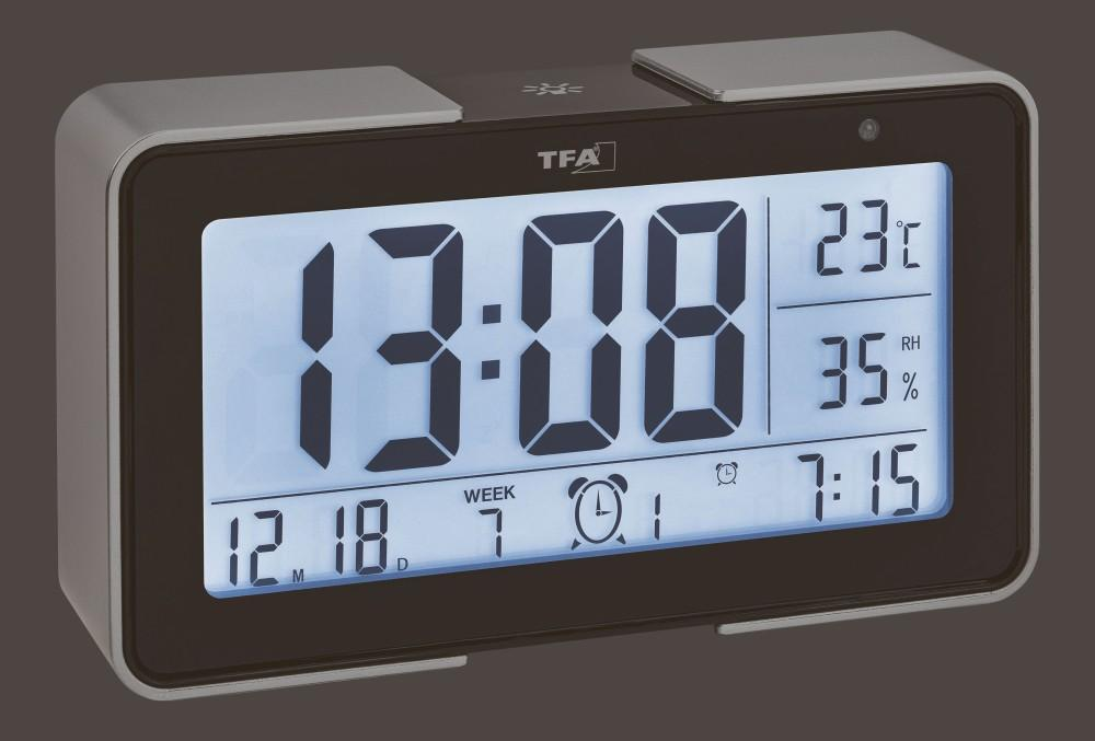 Rádiem řízený budík TFA 60.2540.01 Melody