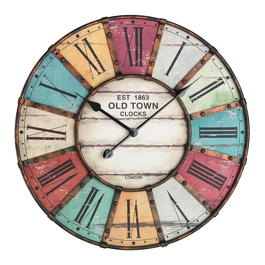 Nástěnné hodiny velikosti XXL TFA 60.3021 VINTAGE