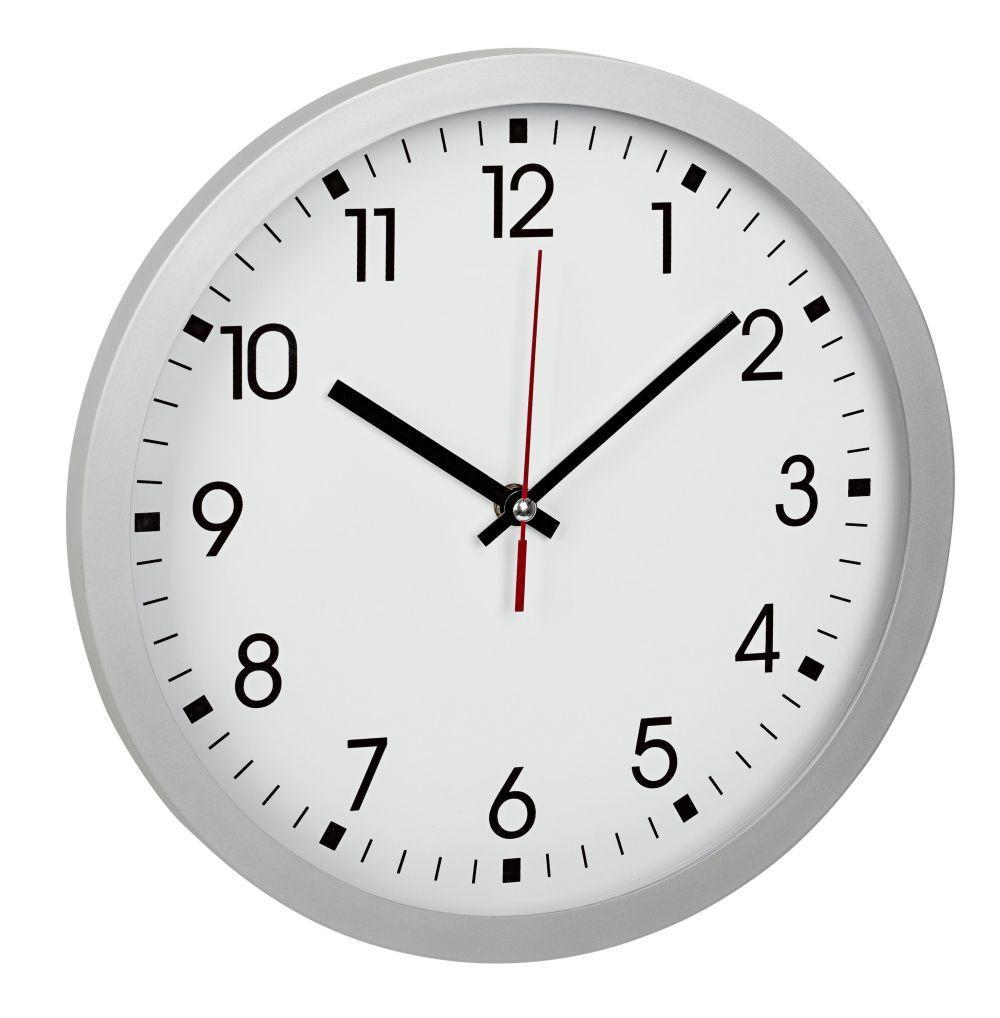 Nástěnné hodiny TFA 60.3035.02 - stříbrné