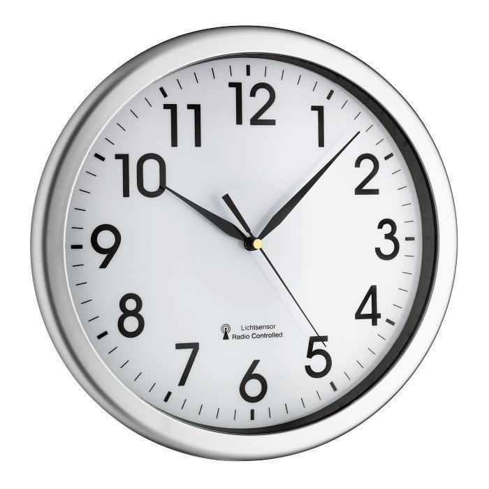 Nástěnné DCF hodiny s možností podsvícení TFA 60.3519.02 CORONA