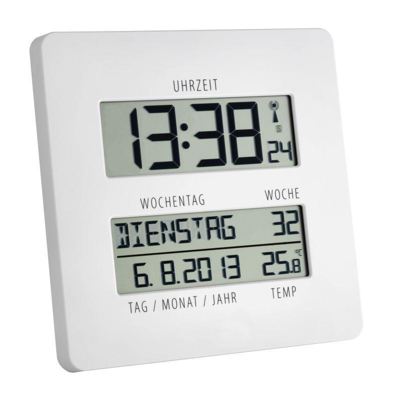Rádiem řízené hodiny s teploměrem TFA 60.4509.02