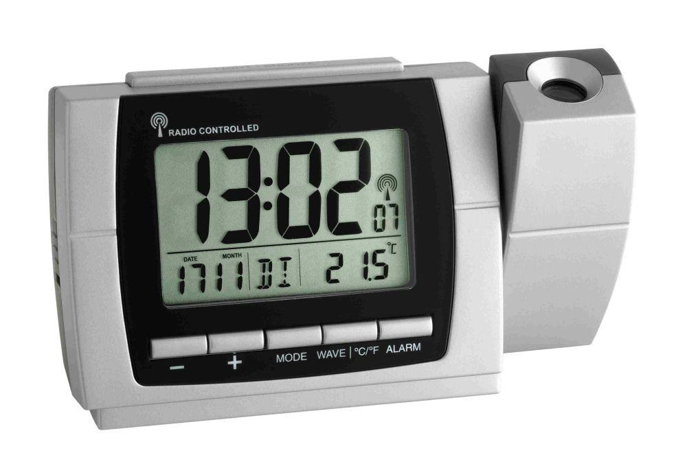 Rádiem řízené hodiny s projektorem a teploměrem TFA 60.5002