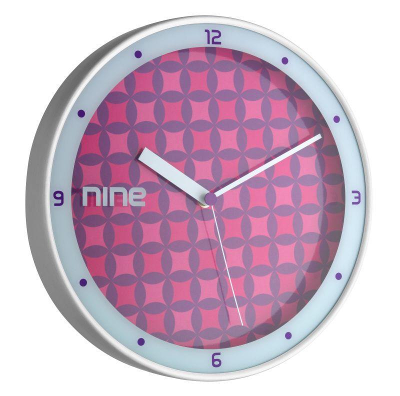 Nástěné hodiny TFA 98.1100 - fialové