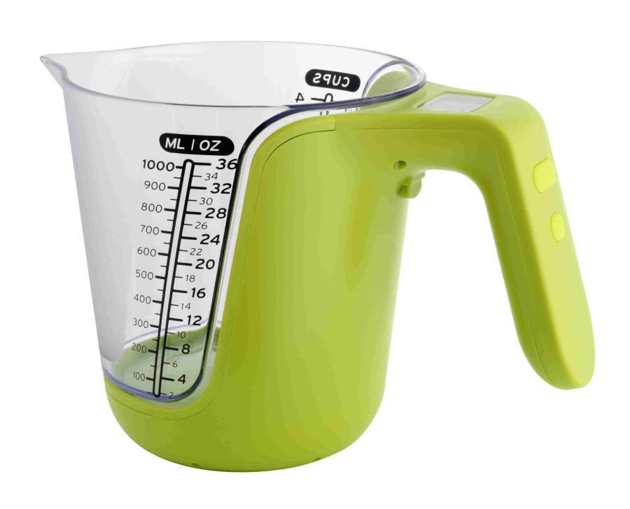 Kuchyňská váha a odměrka TFA 98.1105.04 - zelená