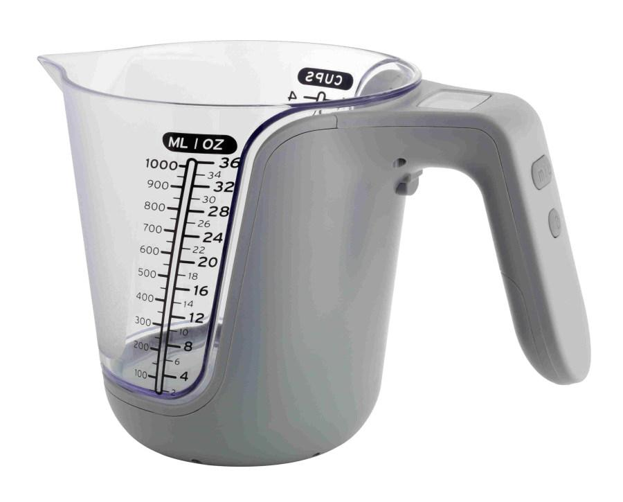 Kuchyňská váha a odměrka TFA 98.1105.10 - šedá