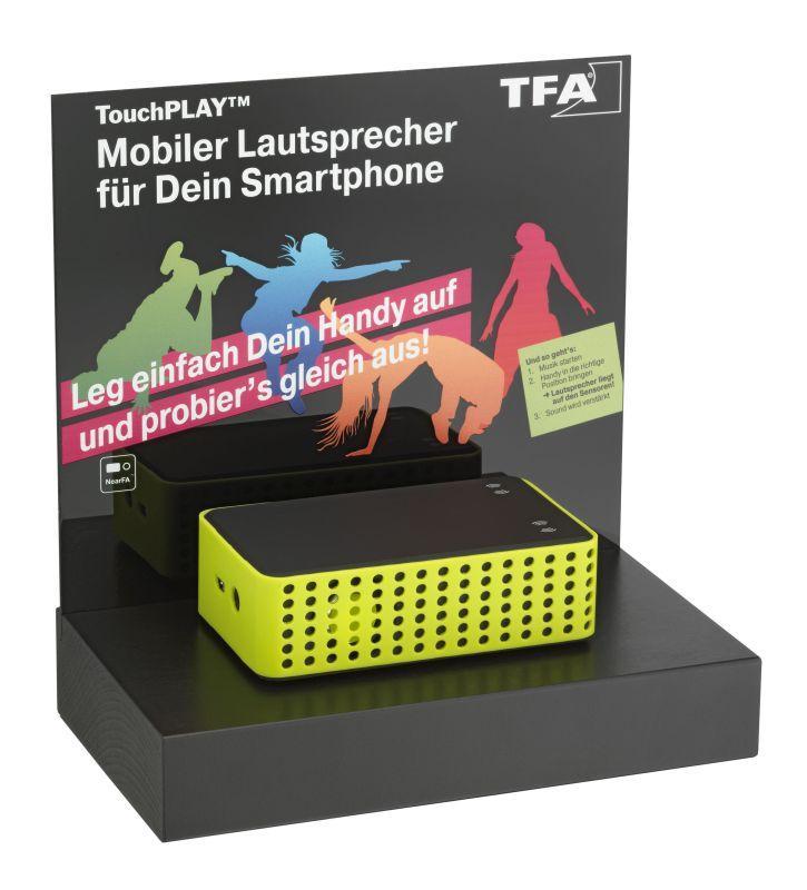 Prezentační stojan pro bezdrátové reproduktory TFA 98.3055.02