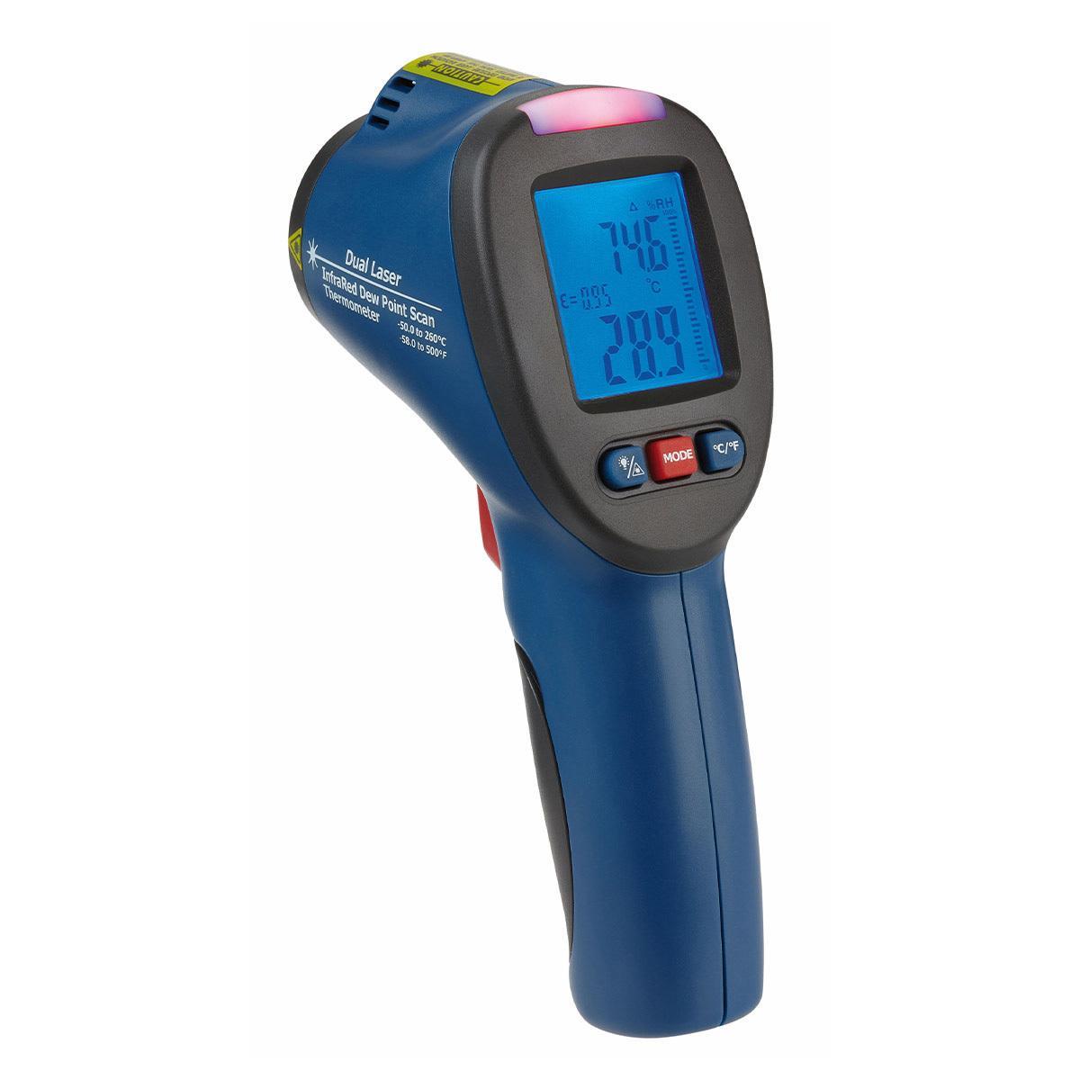 TFA 31.1141.06 - Infračervený teploměr s měřením rosného bodu a sledováním rizika plísní