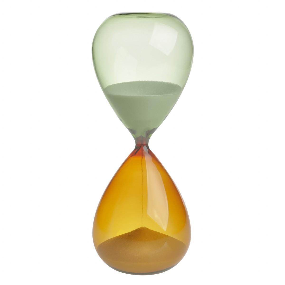 TFA 18.6009.02.41 - přesýpací hodiny - 15 minut - oranžová/zelená