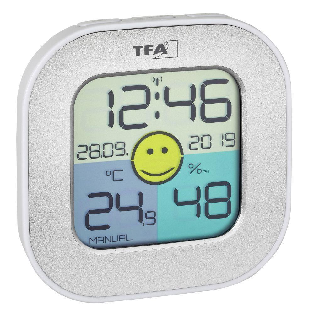 Digitální teploměr s vlhkoměrem TFA 30.5050.54 - stříbrný