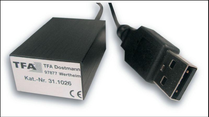 PC teploměr TFA 31.1026 USB-TEMP