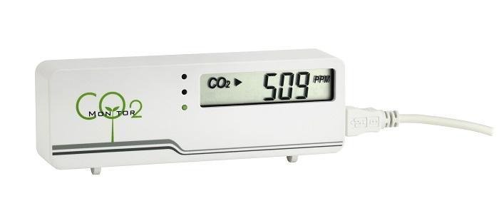 Indikátor oxidu uhličitého TFA 31.5006 AIRCO2NTROL MINI