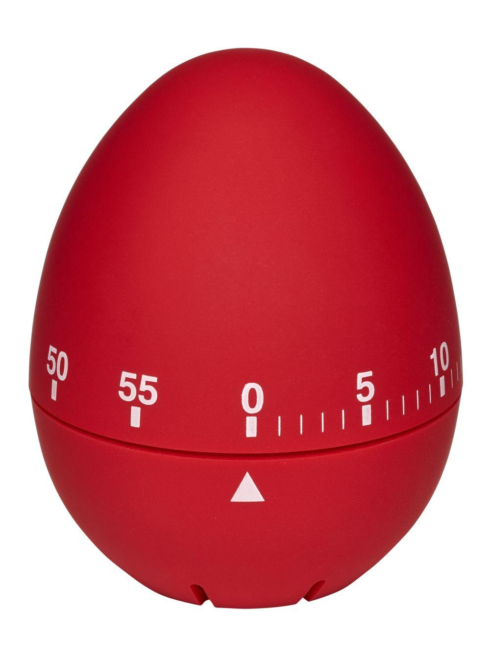 Kuchyňská mechanická minutka TFA 38.1032.05 - vajíčko červené