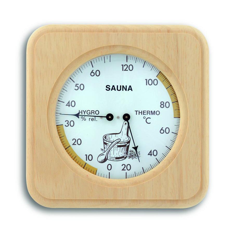 Sauna Kombinace (Teploměr, Vlhkoměr) - TFA 40.1007