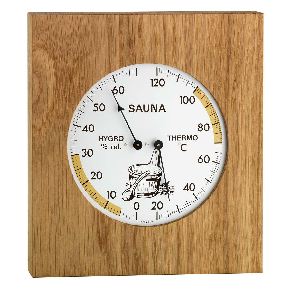 Sauna Kombinace (Teploměr, Vlhkoměr) - TFA 40.1051.01