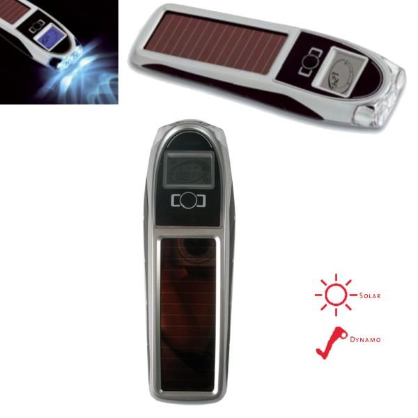Samonabíjecí svítilna se solárním a ručním dobíjením TFA 43.2027