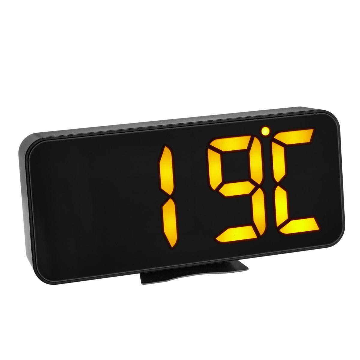 Digitální budík s teploměrem a velkými LED číslicemi TFA 60.2027.01