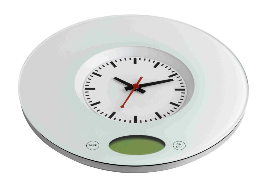 Kuchyňská váha s hodinami TFA 60.3002