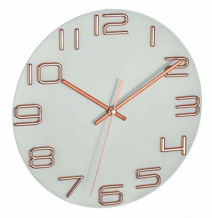Nástěnné hodiny TFA 60.3043.51 s tichým chodem