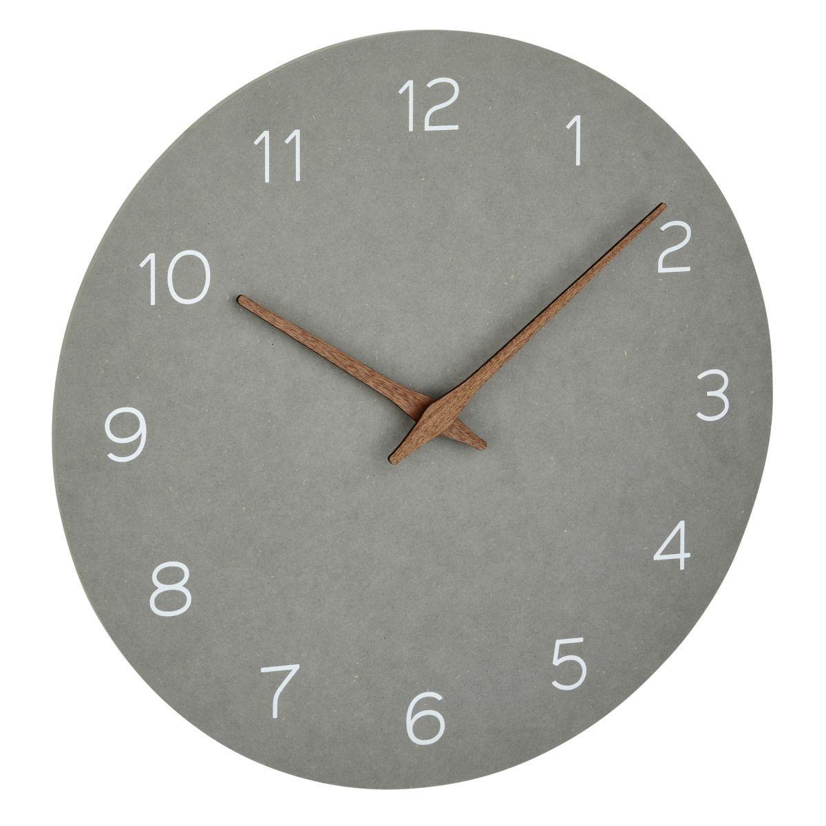 TFA 60.3054.10 - Nástěnné hodiny - betonová šedá