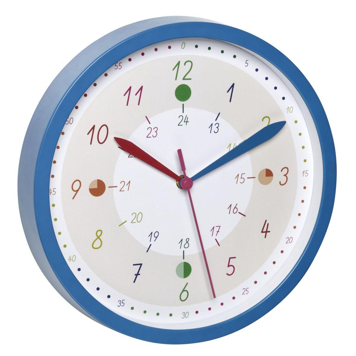 TFA 60.3058.06.90 TICK TACK - dětské nástěnné hodiny na účení
