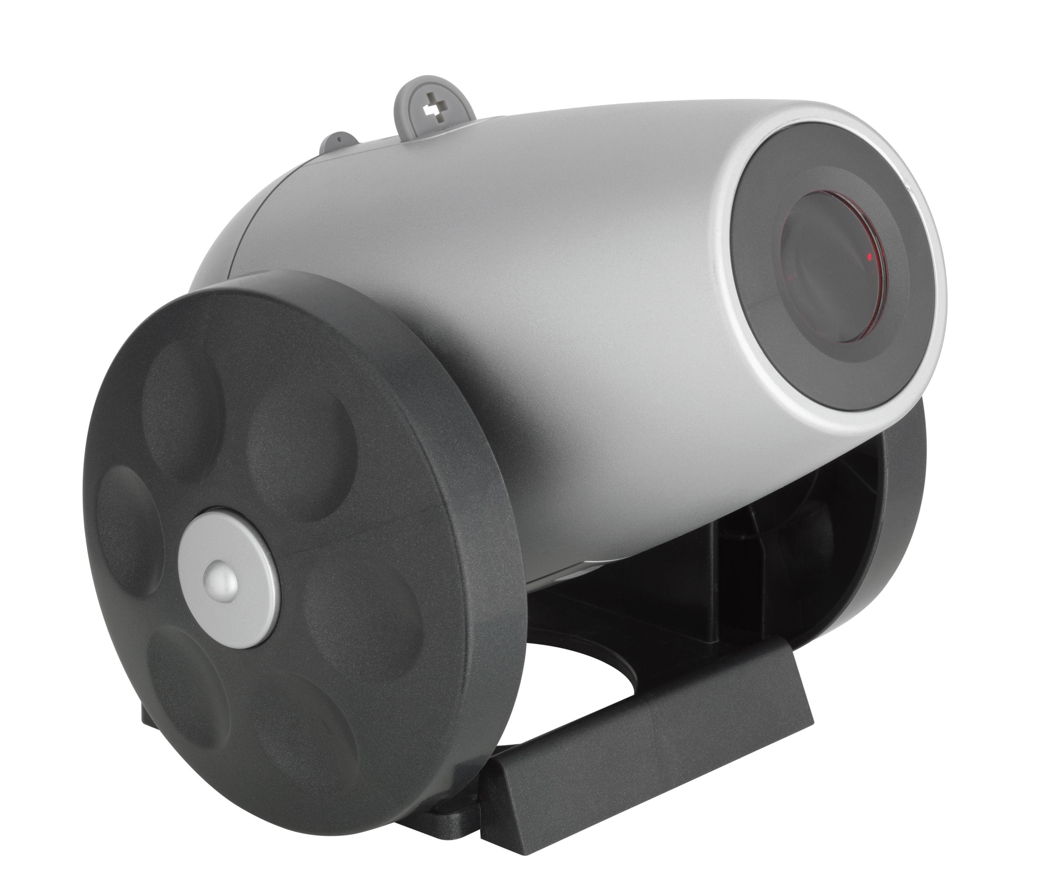 Rádiem řízený budík s projektorem Time Gun TFA 60.5005