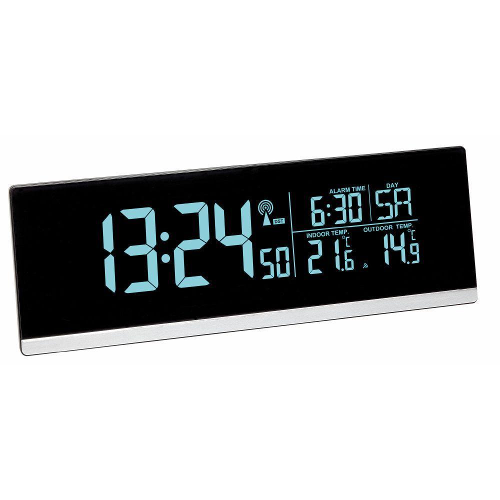 Rádiově řízený budík TFA 60.2548.01 s barevným displejem a USB výstupem